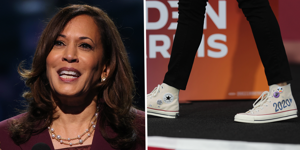 Thousands of Kamala Harris Supporters Will Rock 'Chucks and Pearls' on Inauguration Day