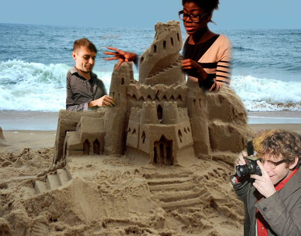 NYC Artists Head to Far Rockaway For Inaugural Sandcastle Competition