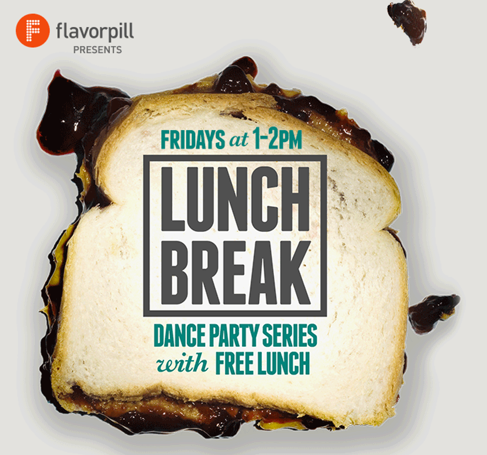 Flavorpill's Lunch Break: A Lunchtime Dance Party With Free Food