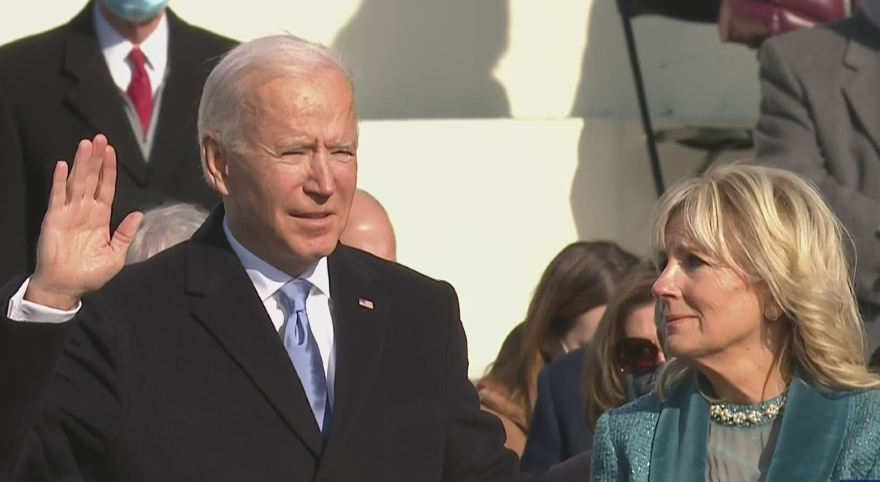Biden's Inauguration Signals A Time Of Healing After A Dark And Painful Period