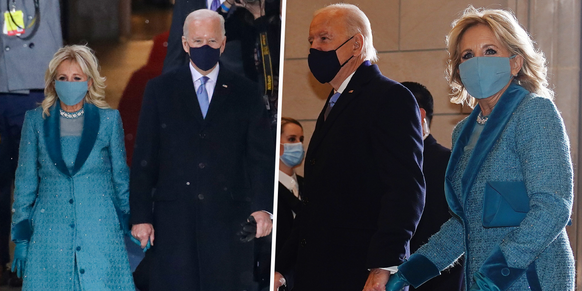 Dr. Jill Biden's Inauguration Outfit Has a Special Meaning Behind It