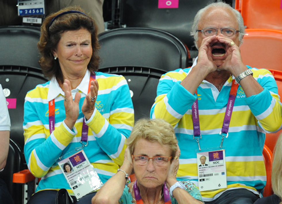 Our 14 Favorite Photos of Royals Looking Like Dorks at the Olympics