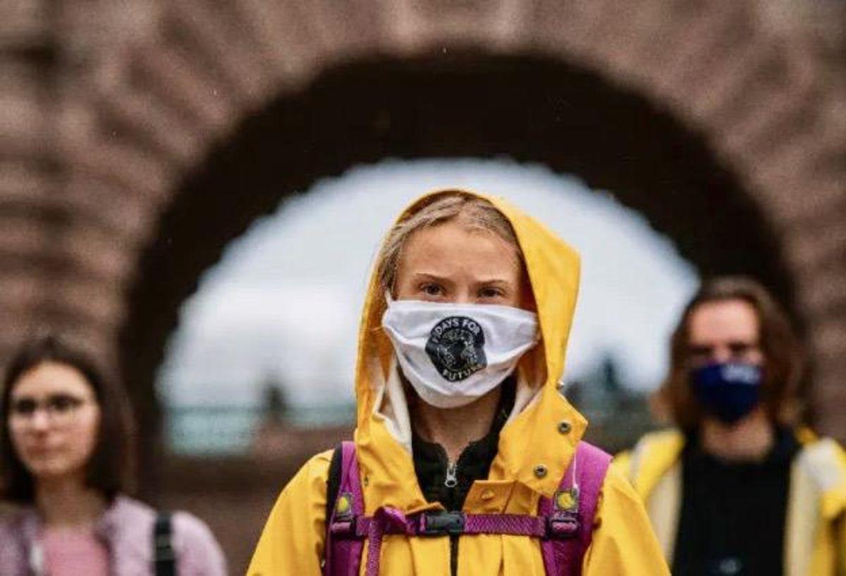 Greta Thunberg wishes 'old man' Trump a 'wonderful future'