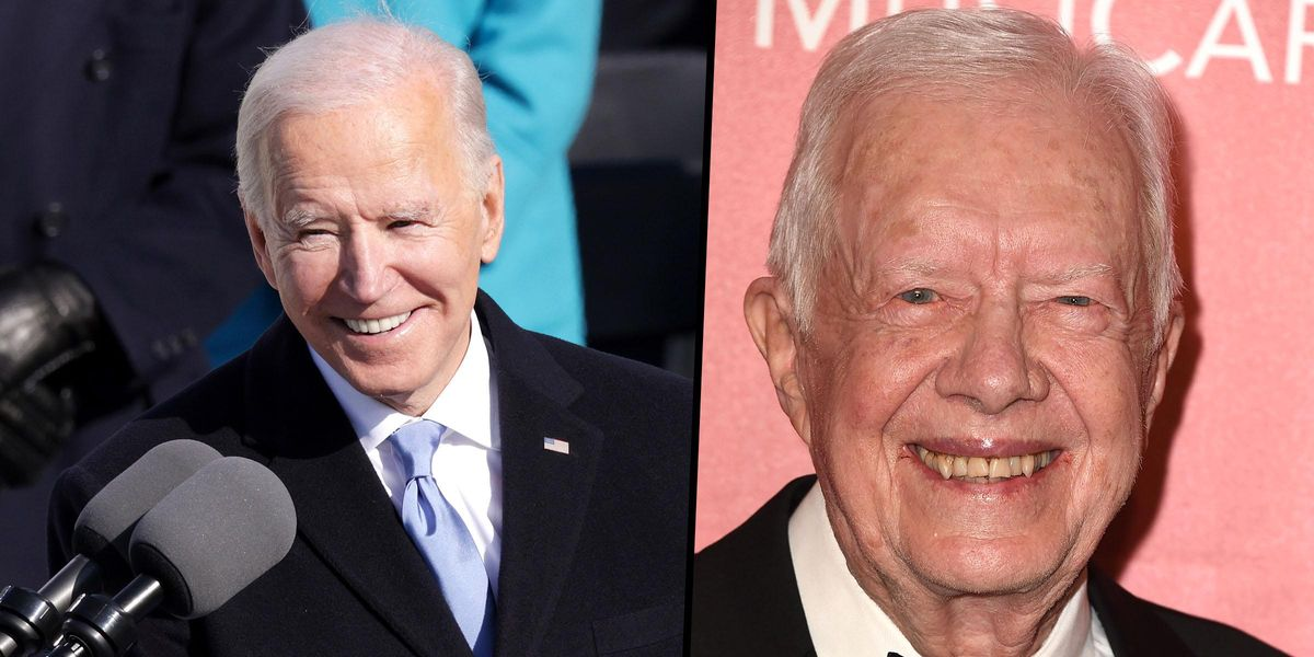 96-Year-Old Jimmy Carter Misses His First Inauguration in 44 Years