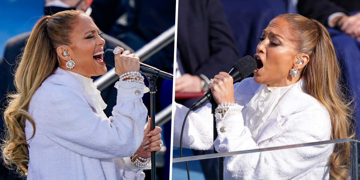 J-Lo Wows Fans With Inauguration Performance but Fans Are Distracted by Her Ring