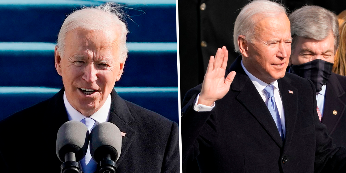 People Baffled By Joe Biden's Middle Name After He's Sworn In As President