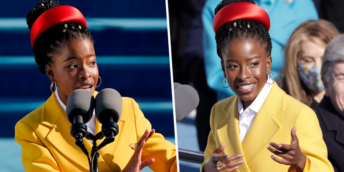 Amanda Gorman Becomes the Youngest Poet To Ever Read at an Inauguration