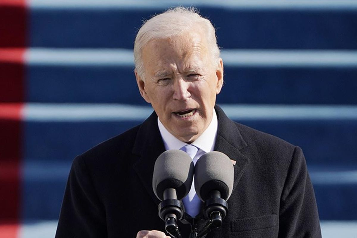 Joe Biden's inaugural address gives hope to the millions who stutter