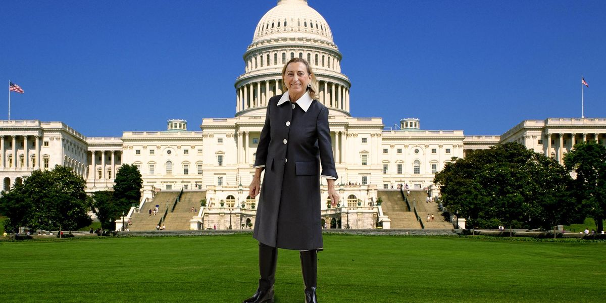 How Miuccia Prada Infiltrated the Inauguration