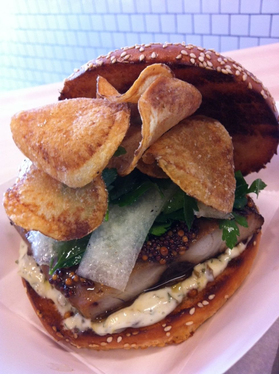Sandwich of the Week: Smoked Bluefish Special from Mile End Sandwich
