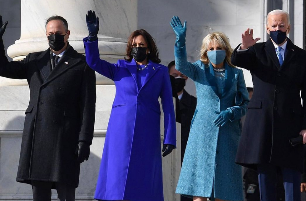 Let's Talk About VP Kamala Harris' Stylish And Symbolic Outfit At The Inauguration