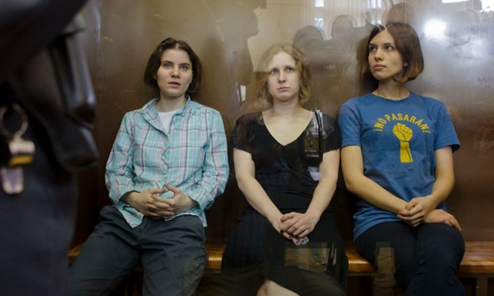 Pussy Riot Sentenced to 2 Years, Marches/Rallies Scheduled Worldwide