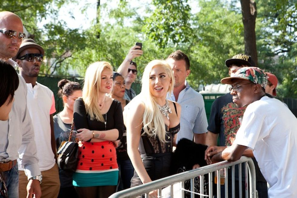 In Honor of Lady Gaga and Kendrick Lamar's New Single, Here Are Some Unpublished Photos Of Them at the Pitchfork Festival
