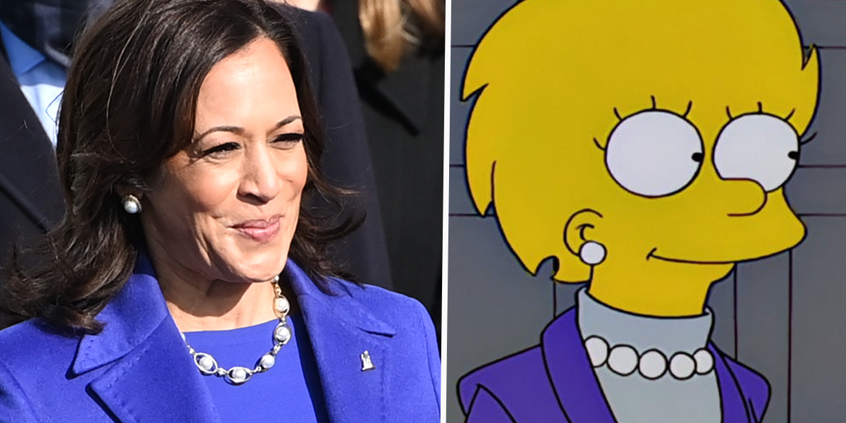 Fans Think 'The Simpsons' Has Predicted Vice President Kamala Harris Will Become President