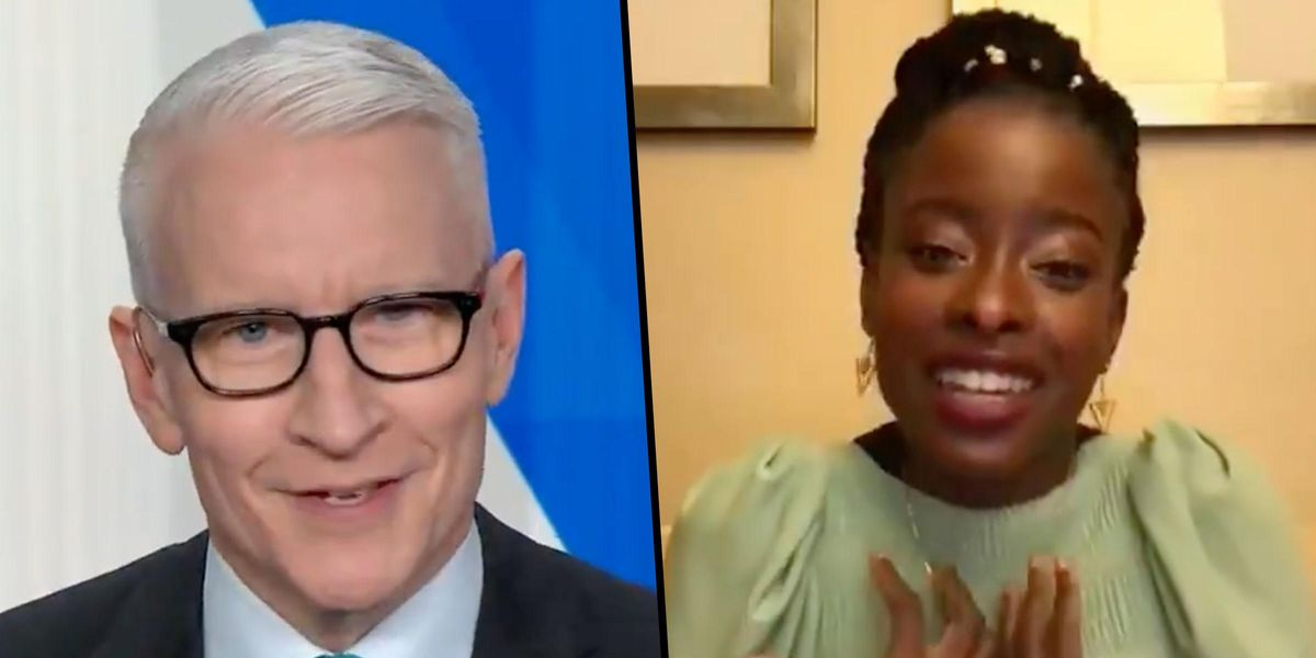 Anderson Cooper Left Speechless During Interview With Inauguration Poet Amanda Gorman