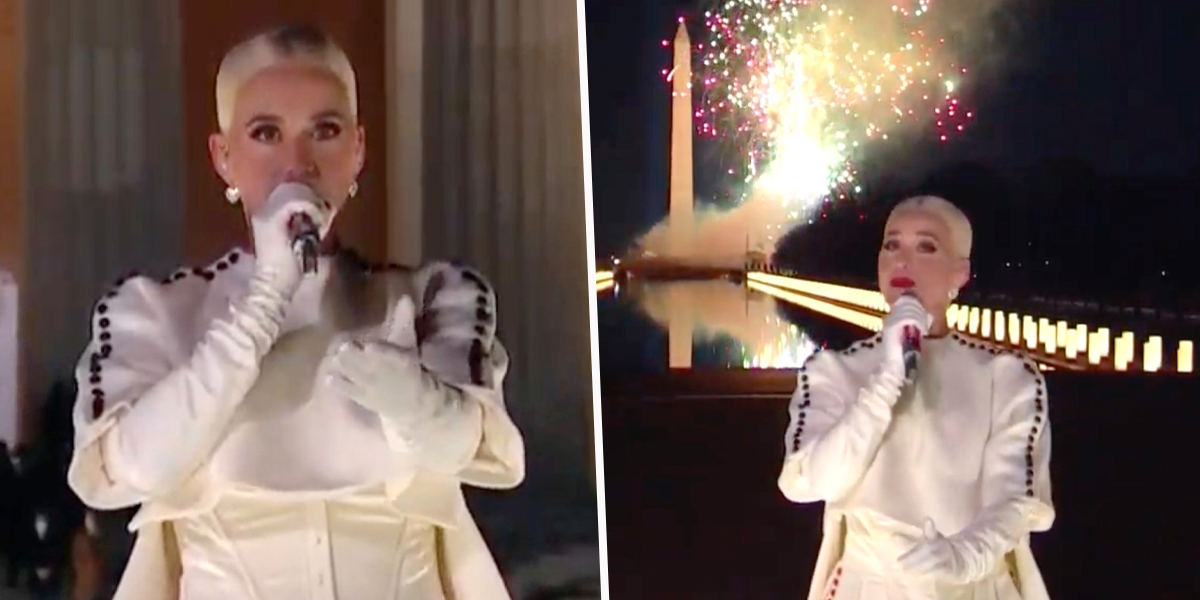 People Fell in Love With Katy Perry's Hidden Meaning Outfit During 'Celebrating America'