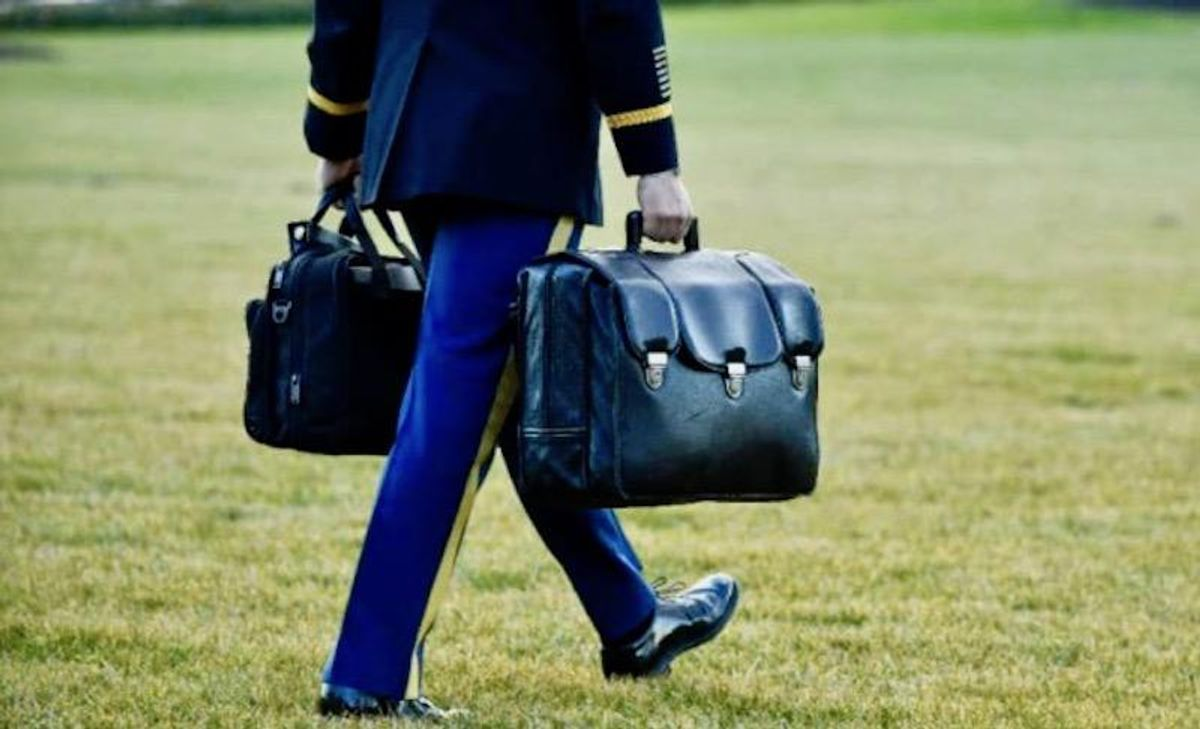 Delicate dance: handing off the US 'nuclear football'