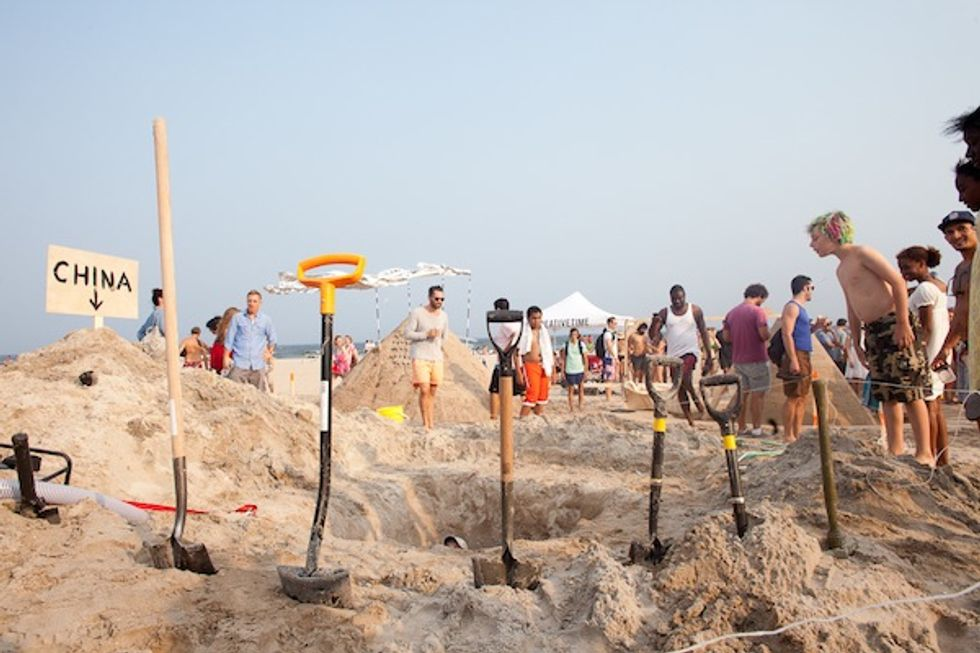 Tom Sachs, Dustin Yellin and More Compete in Creative Time's Artist Sand Castle Contest