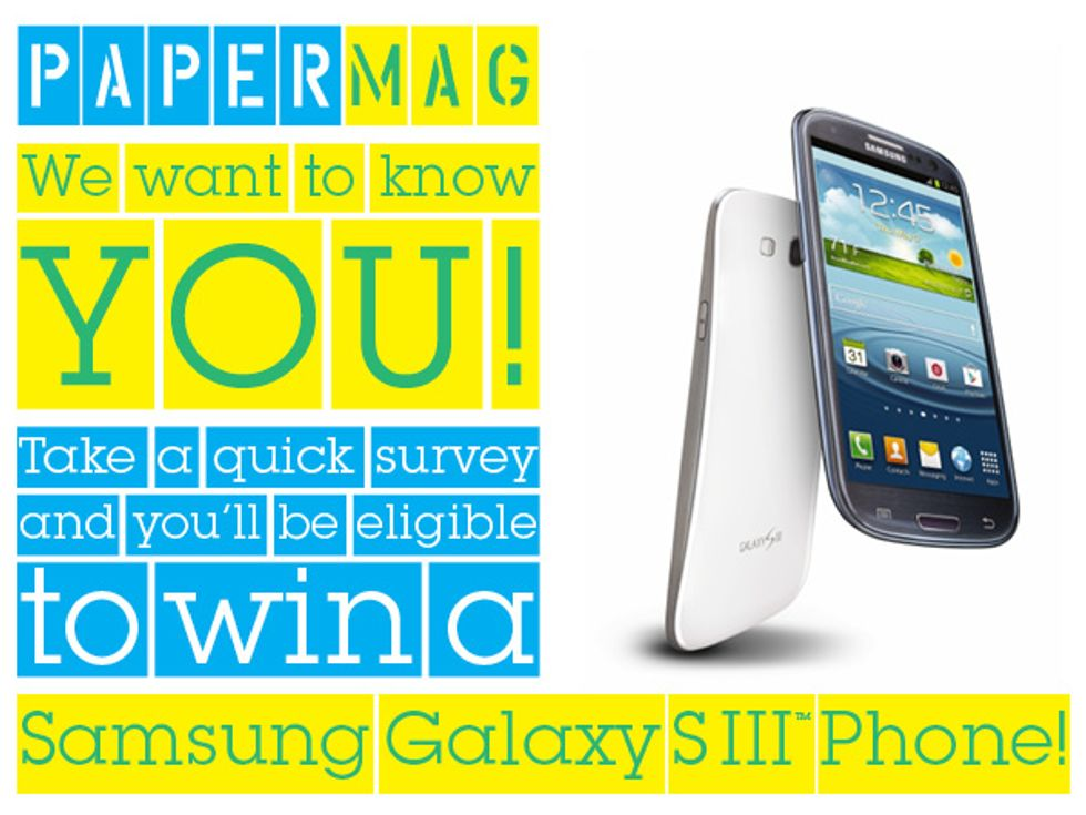 Take the PAPERMAG Survey and Win A New Phone!