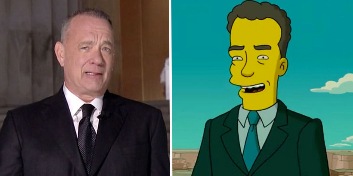 'The Simpsons' Fans Claim Tom Hanks' Inauguration Special Was Predicted in 2007