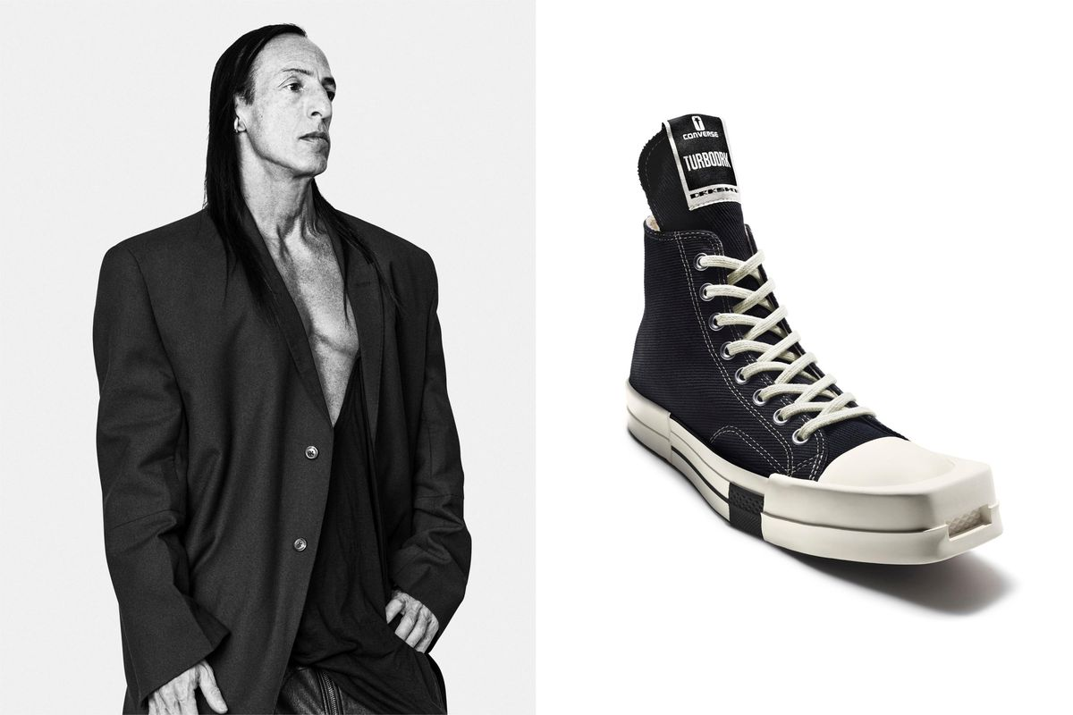 Rick Owens Gave Converse the Makeover It Deserves