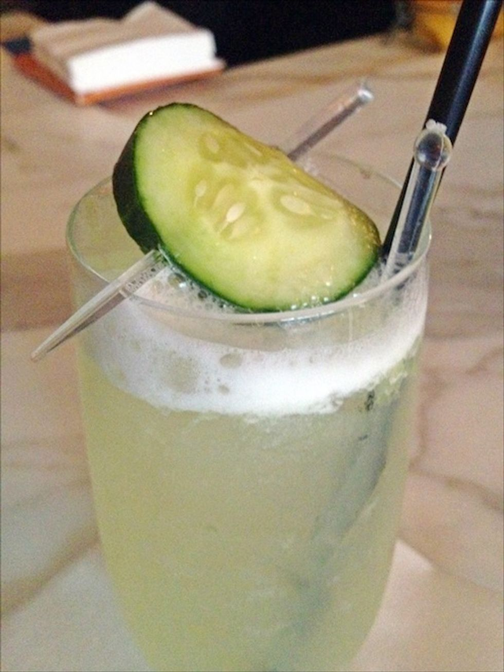 Cocktail of the Week: The Zenzero Frizzante at Scarpetta