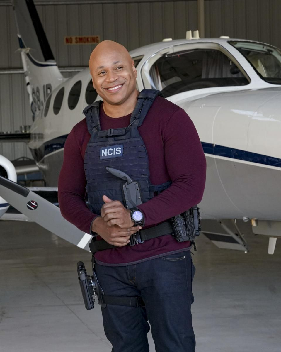 \u200bLL COOL J as Special Agent Sam Hanna