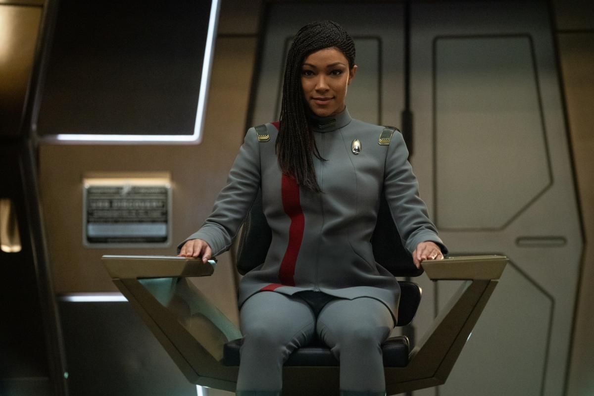 \u200bSonequa Martin-Green as Commander Burnham