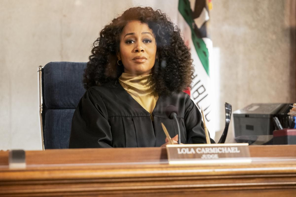 \u200bSimone Missick as Judge Lola Carmichael