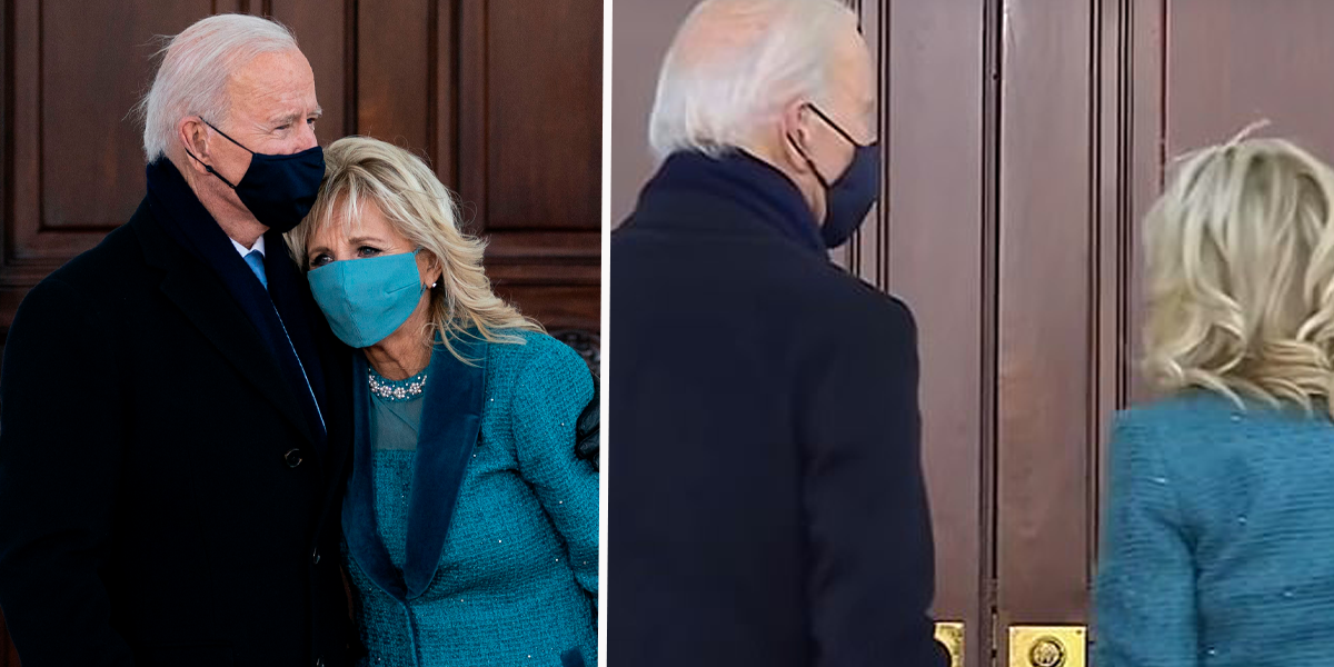 Joe and Jill Biden Got Stuck Outside White House After Usher Was Fired Hours Earlier