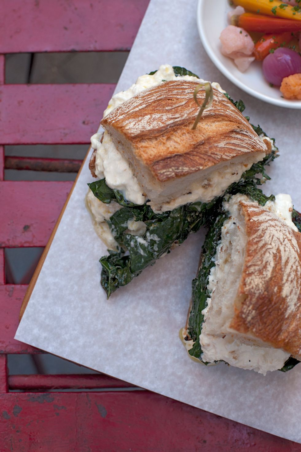 Sandwich of the Week: Tuscan Kale from Il Buco Alimentari & Vineria