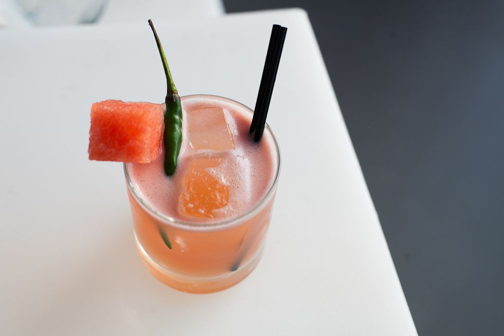 Cocktail of the Week: The Dry and Spicy at Mulberry Project