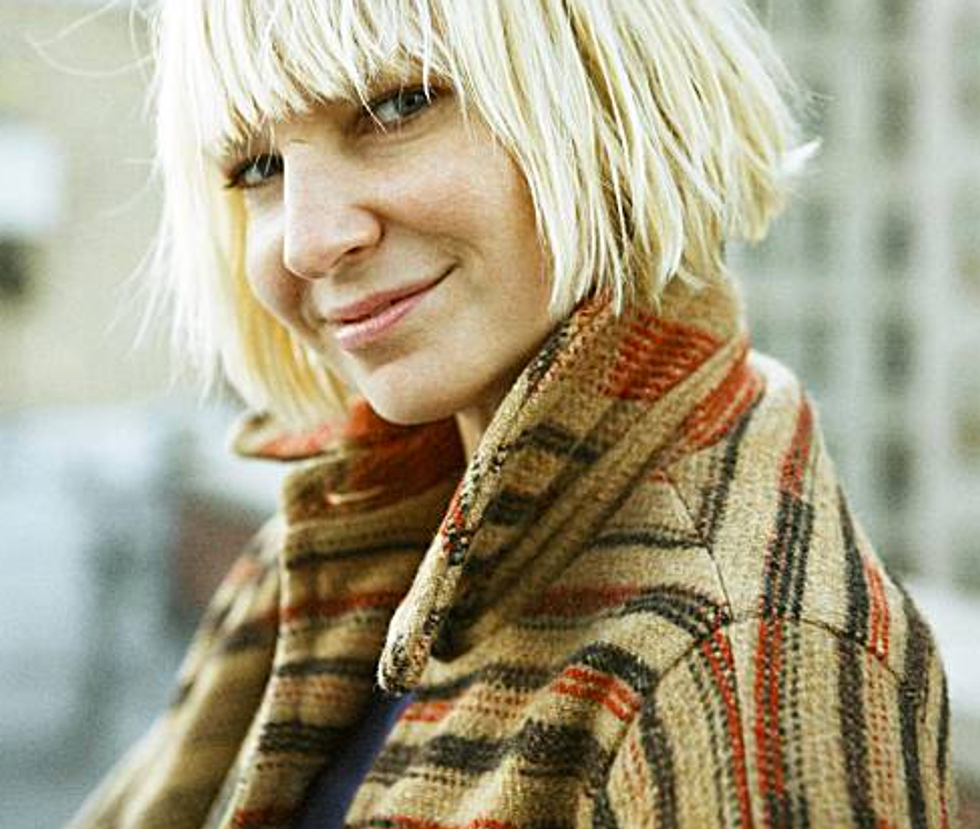 "Sia Tells Us How She Went From ""Retirement"" to Making Songs With Flo Rida and David Guetta"