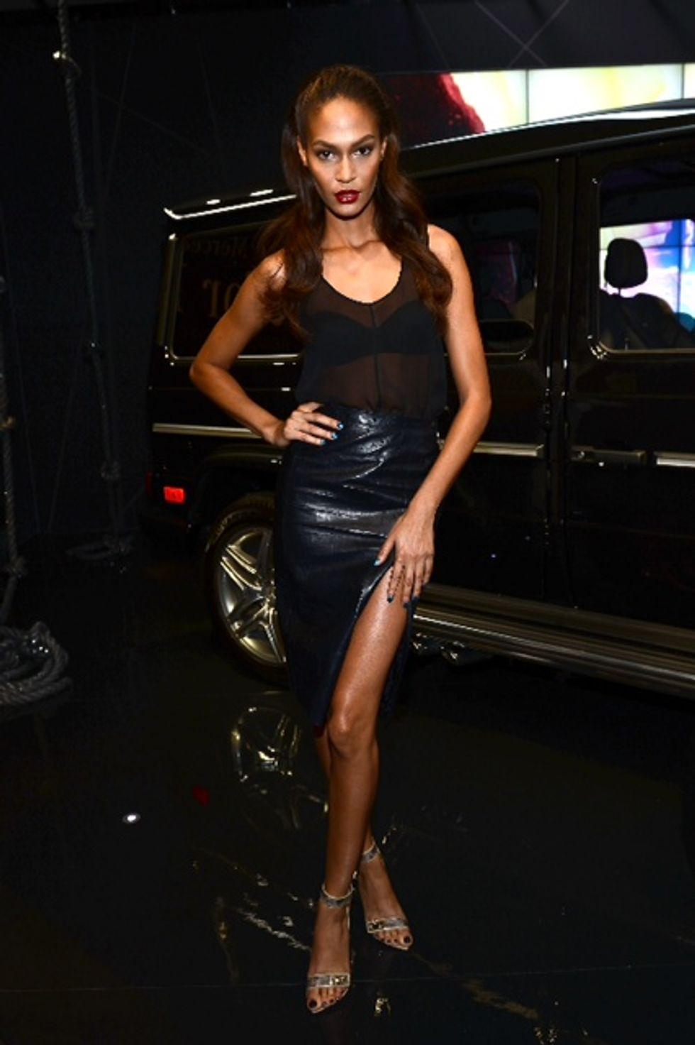 Chatting With the Newly-Named House of Style Co-Host, Joan Smalls, at Fashion Week