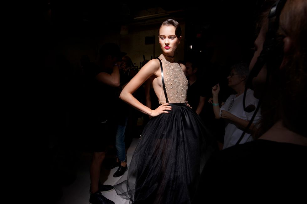 Jason Wu S/S '13: Black and White and Sexy All Over