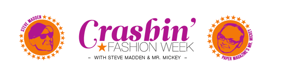 Don't Forget About All of the Crashin' Fashion Week Prizes From Steve Madden!