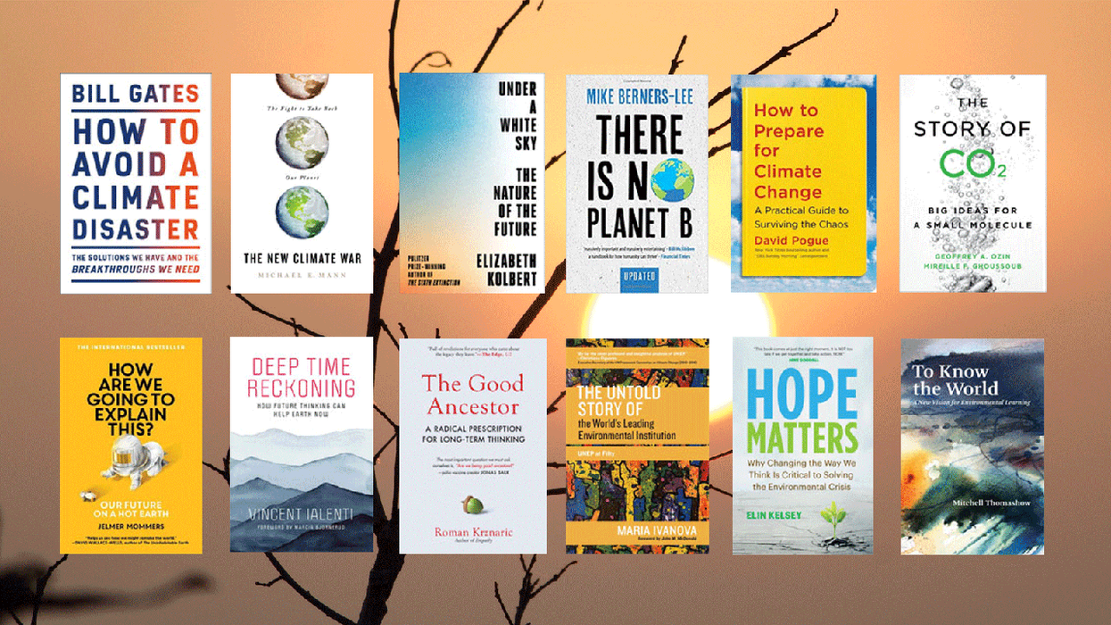 12 New Books Explore Fresh Approaches to Act on Climate Change
