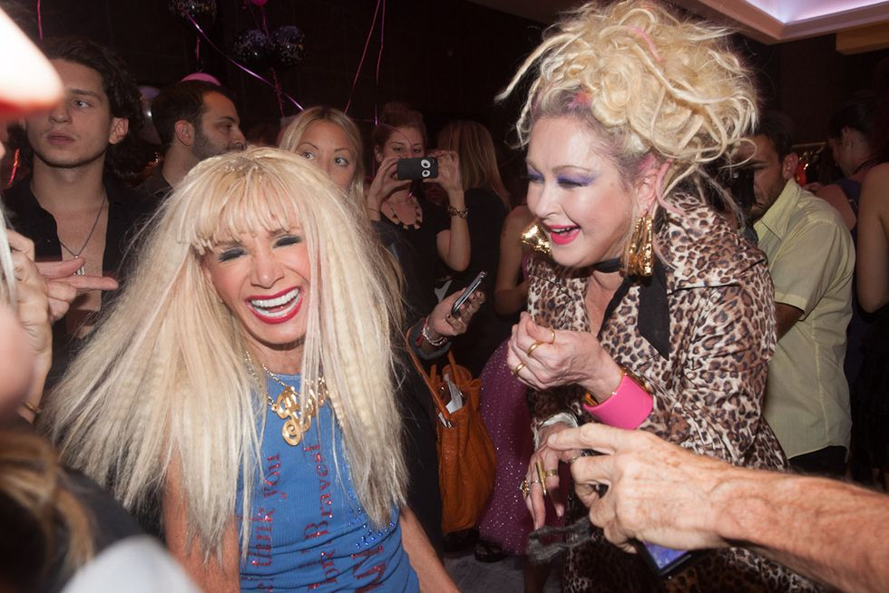 Betsey Johnson's Massive Retrospective + 70th Birthday Party