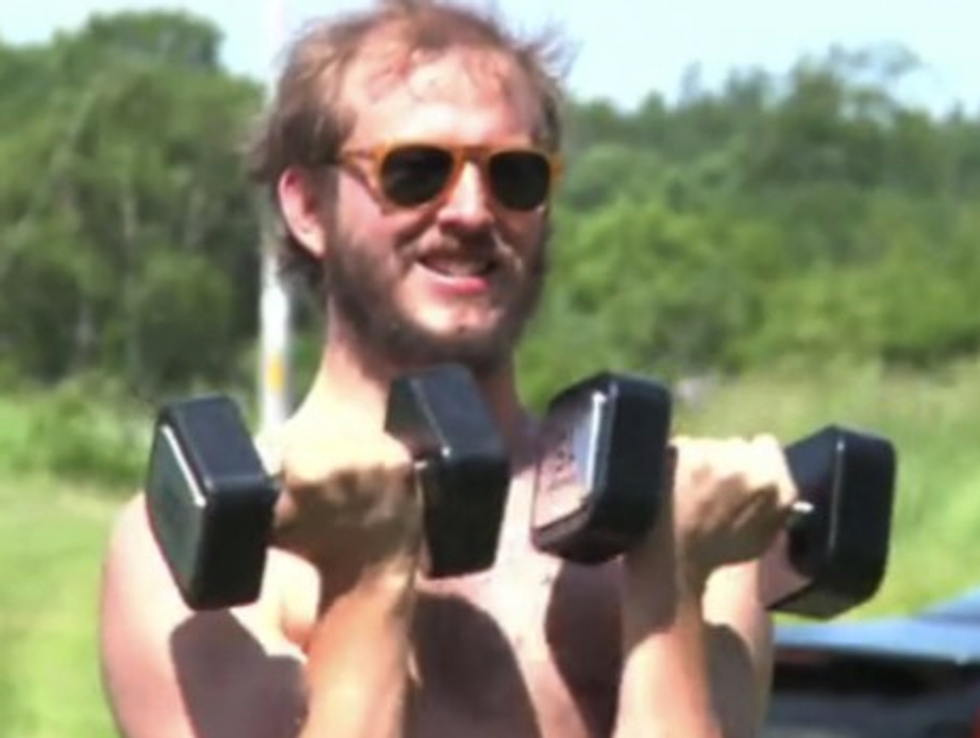 """Bon Iver's """"Fitness Guru"""" + Google's 'Bacon Number' Search Feature = Eight Items Or Less"""