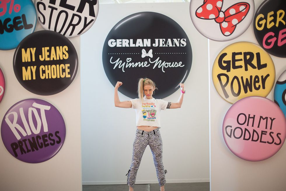 "Gerlan Jeans Does ""Gerl Power"""