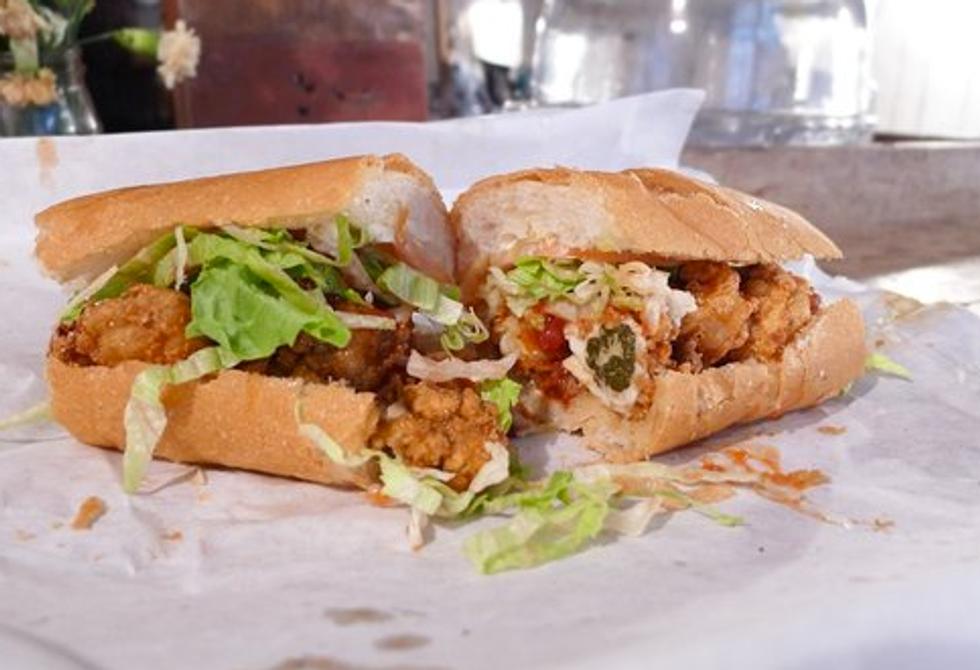 Sandwich of the Week: Half-Half Sea Po' Boy From Cheeky Sandwiches