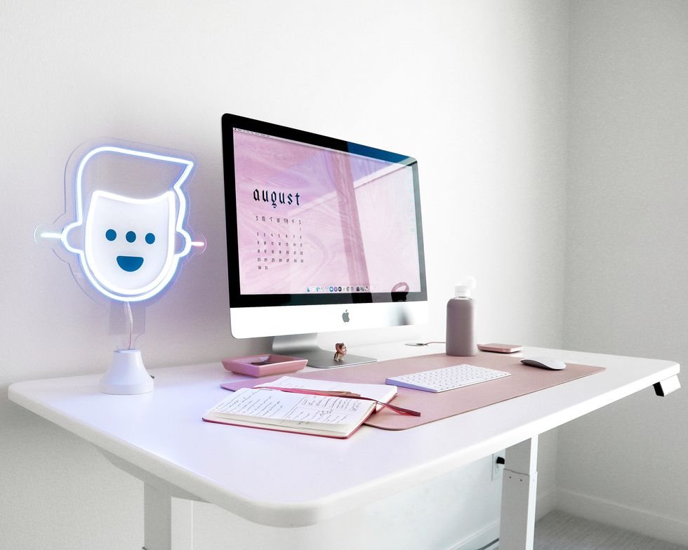 12 Ways To Glam Up Your Desk And Workspace Since We Live There Now