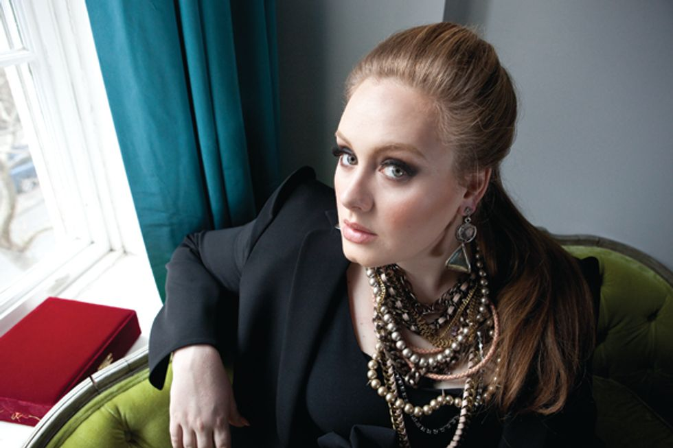 Adele's Maybe Designing a Plus-Size Line for Burberry + Leather Track Pants Are a Thing in Today's Style Scraps
