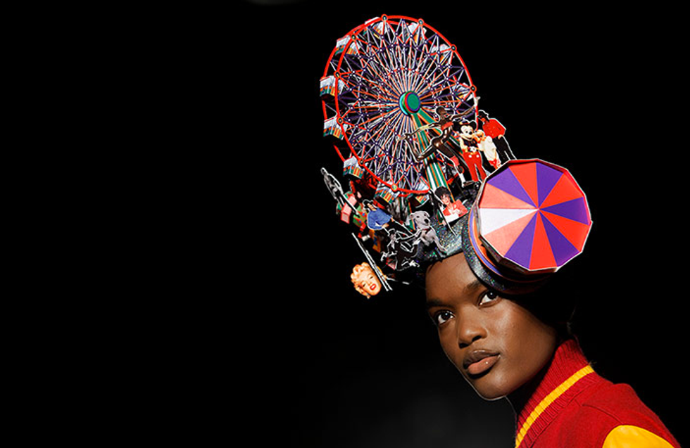 The Bonkers Hats of London Fashion Week
