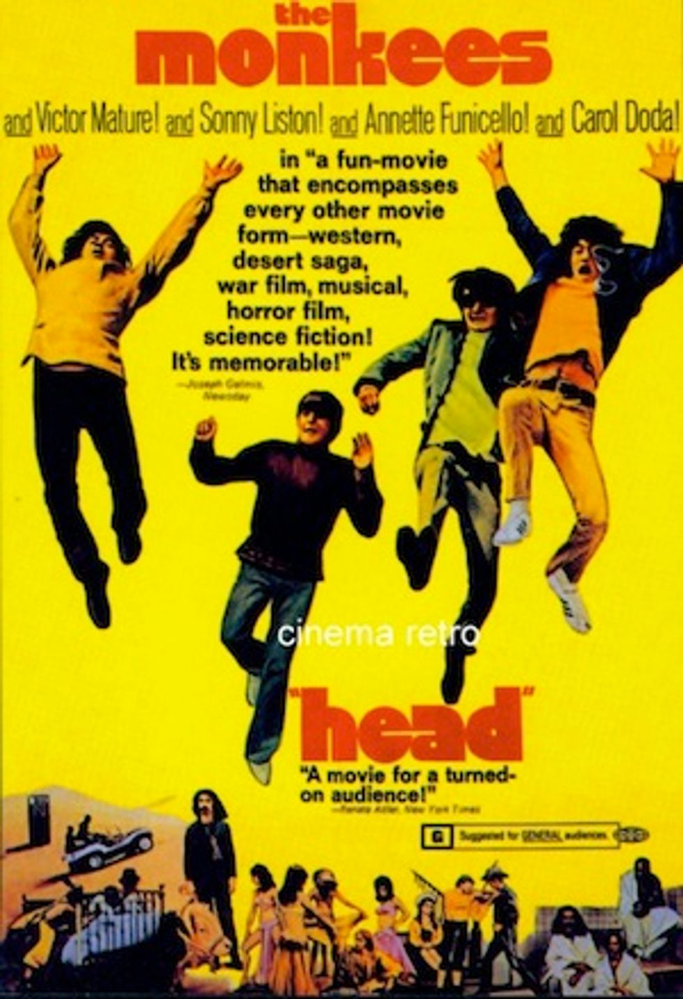Tips for Today: The Monkees' Head in NYC + Chickfactor in LA + Expo Chicago + The Helio Sequence in London