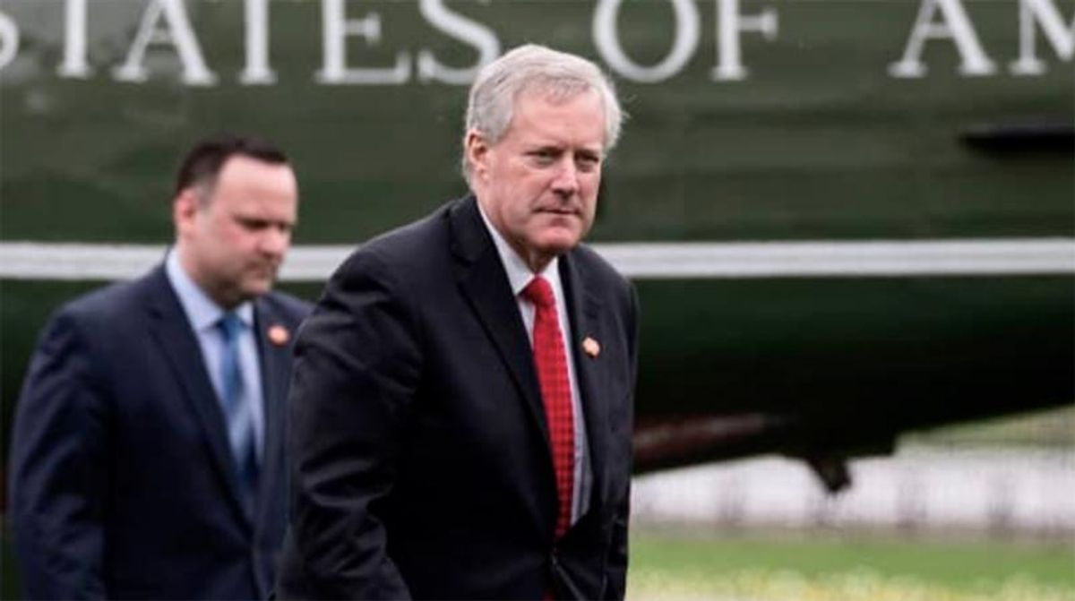 'Tainted' Mark Meadows could end up working at the Trump Org because no one else wants him: report