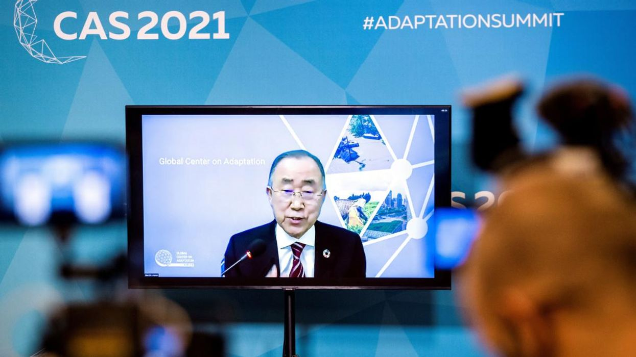World Leaders Participate in Virtual Climate Adaptation Summit