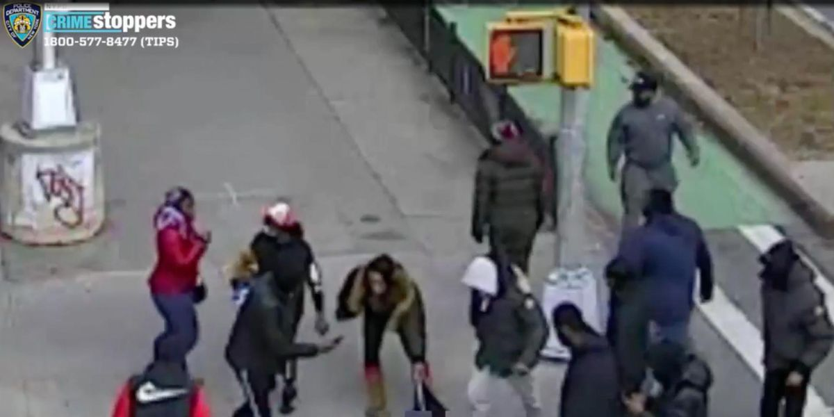 Police seek dozens of suspects in horrific NYC beatdown — which was all caught on camera