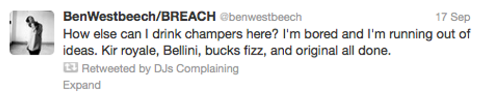 @DJsComplaining Is Our New Favorite Twitter Account