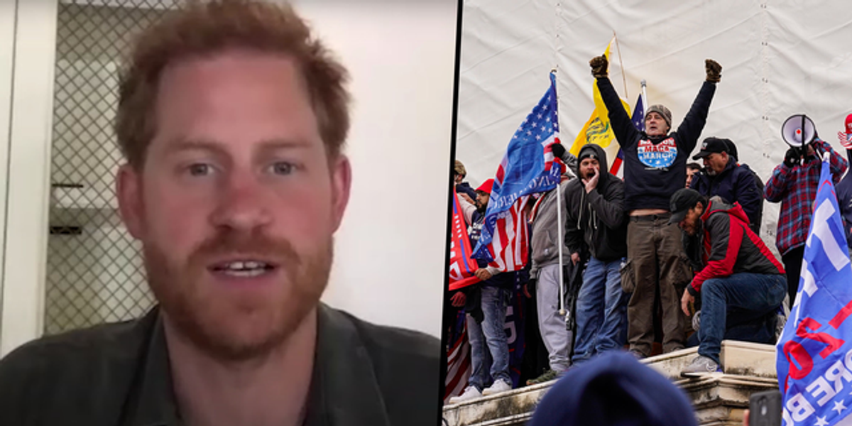 Prince Harry Speaks Out About the Capitol Riots